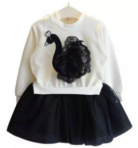 Детское платье рост 110-116 см