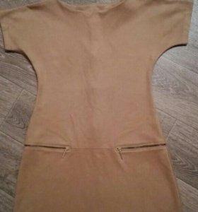 Новое вельветовое платье