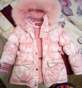 Зимняя куртка для девочки KIKO