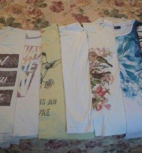 Пакет вещей(футболки женские)