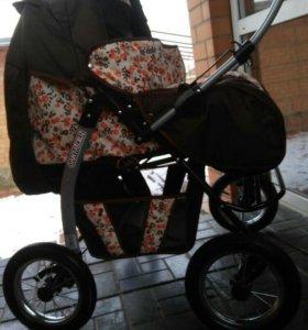 Детская универ коляска большая 3 * 1