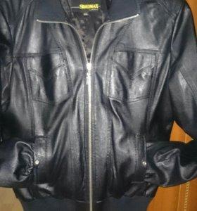 Кожаная женская куртка( натуральная)