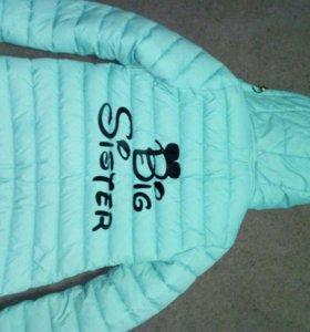 Куртка холодная осень теплая зима