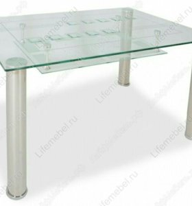 Стеклянный стол Жасмин
