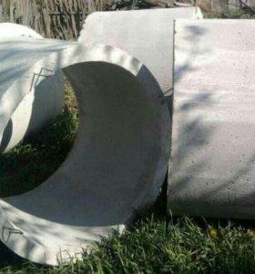 Кольца бетонные для колодца 1м