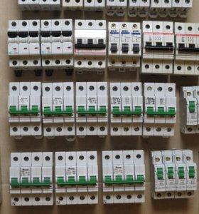 Автомат. выключатели вводные, 3-фазные, 25-63А