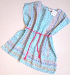 Платье-туника H&M новое от 116 до 134