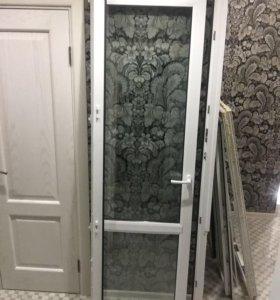 Балконный блок (окно + дверь)