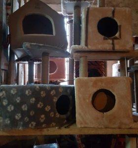 домики для кошечек