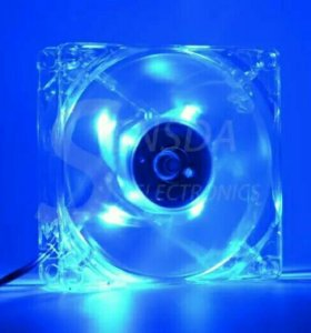 Кулер (вентилятор) для компьютера с подсветкой!