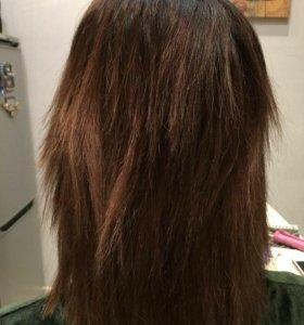 Наращивание волос в 4 руки