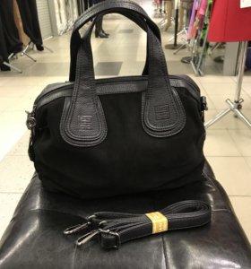 Сумка Givenchy натуральная замша и кожа новая✅
