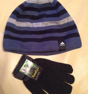 Новые шапка и перчатки(Пушкин)