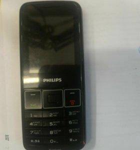 Телефон кнопочный PHILIPS Xenium
