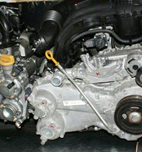 Двигатель субару fb25