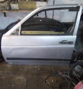 Дверь на ваз 21123(купе)передние крылья,задний бам