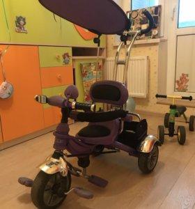 Детский трехколёсный велосипед STYLE