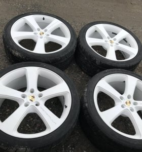 285 35 22 Nitto NT555 Gemballa Porsche Cayenne