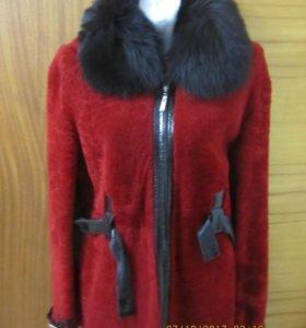 Курточка Зимняя шубка Натуральный мутон