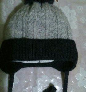 Зимняя шапка 46-48