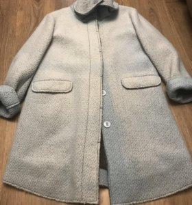 Осеннее пальто утепленное