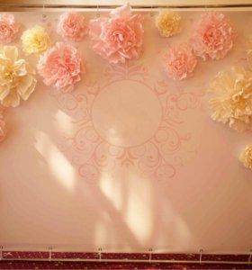 🌷🌷Бумажные цветы 🌷🌷