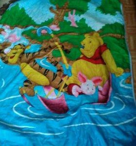 Стеганное покрывало-одеяло