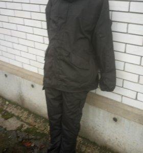 тактический костюм горка с флисом