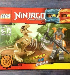 Лего с динозаврами