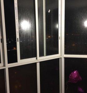 Окна от балкона