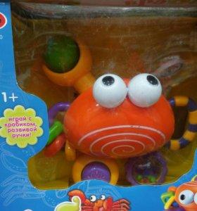Крабик развивающая игрушка