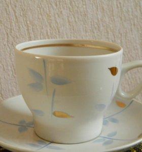 Чайные пары Минского и Рижского фарфорового з-да