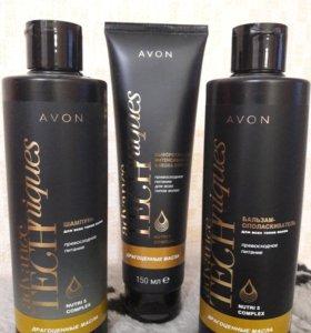"""Набор для волос """" драгоценные масла"""" от avon"""
