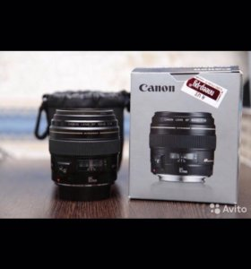 Объектив Canon EF 85mm f1.8 USM