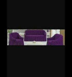 Пледы на диваны и стулья