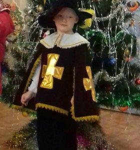 Новогодний костюм мушкитера