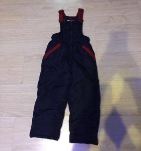 Детская зимняя куртка и зимние штаны