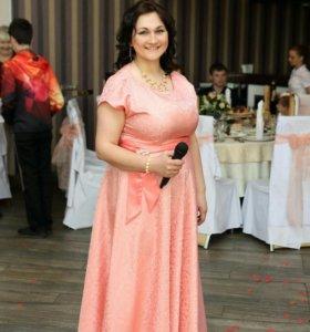 Ведущий (тамада)+диджей с оборудованием на свадьбу