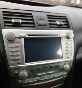 ДВД магнитола на Тойота Камри 40 кузов