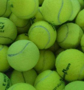 Теннисные мячи б. у
