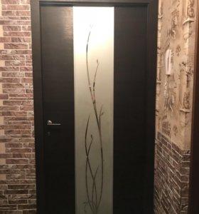 Межкомнатная дверь со всеми комплектующими