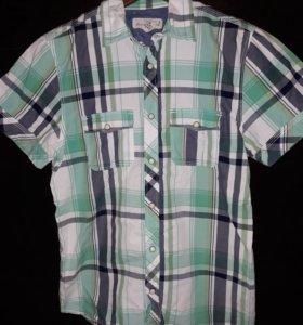 Рубашка на мальчика подростка 10-14 лет