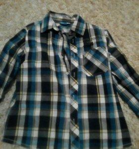 Рубашка на мальчика.140см