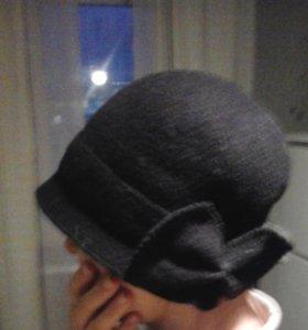 Фетровая шляпка (шапка) натуральная зимняя