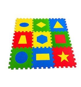Развивающий коврик Геометрия.