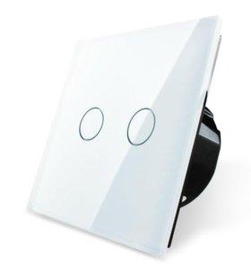Выключатель сенсорный LIVOLO двухлинейный