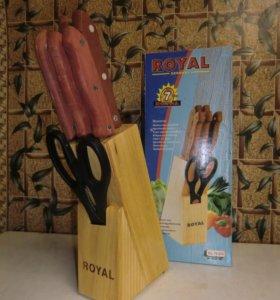 Новый фирменный набор кухонных ножей ROYAL