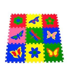 Развивающий коврик бабочки.