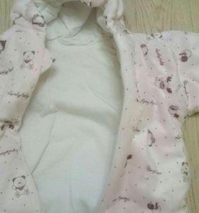 Комбинезон новый спальный мешок 56