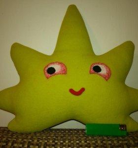 "Игрушка-подушка ""Счастливый листок"")"